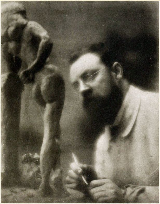 Edward Steichen's pictorialist portrait of Matisse, ca 1909
