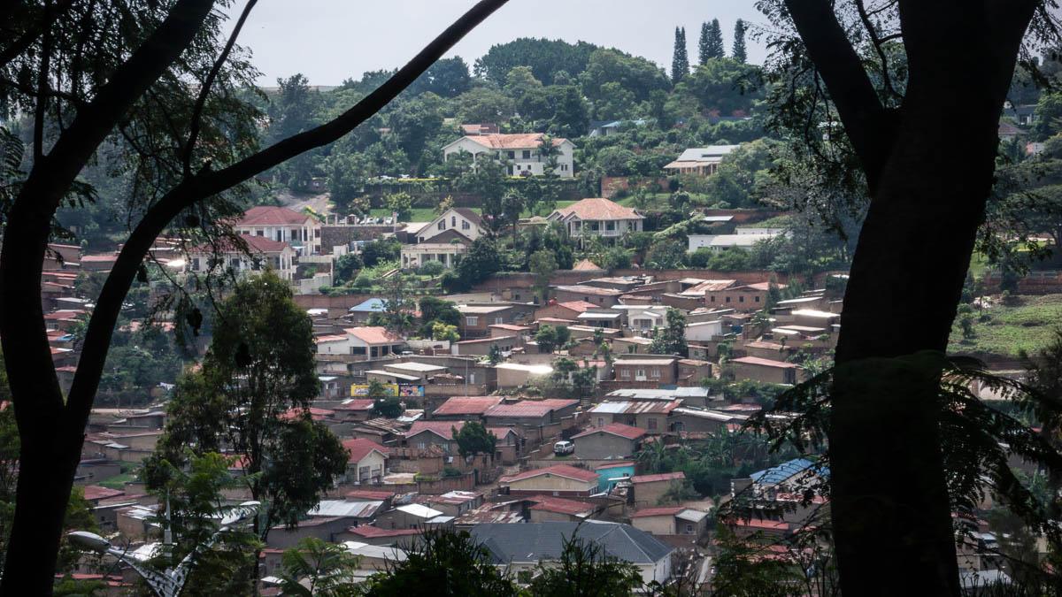 Kigali, Rwanda landscape